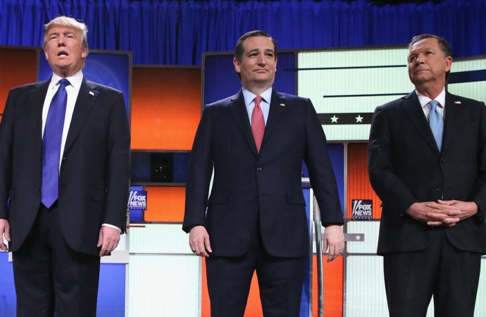 Ted Cruz and John Kasich Team Up Against Donald Trump