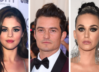 What Happens In Vegas: Orlando Bloom and Selena Gomez Get Touchy