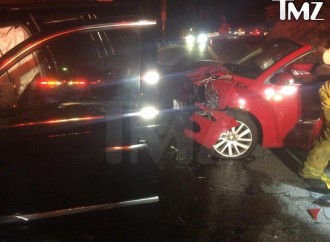 Calvin Harris in Car Crash