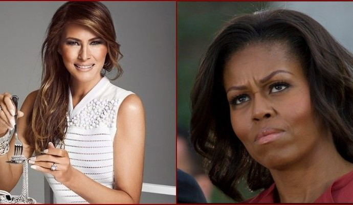 Melania Trump Allegedly Plagiarizes Speech From Michelle Obama