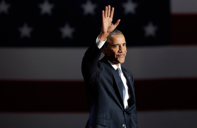 Barack Obama Gives Moving Final Speech as President